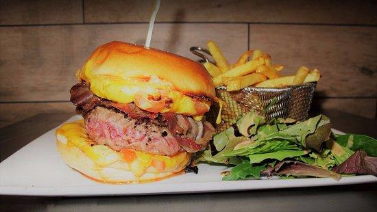 เริงกีส์, ฝรั่งเศส: Hamburger délicieux