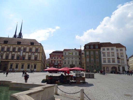 Brno, República Checa: The square