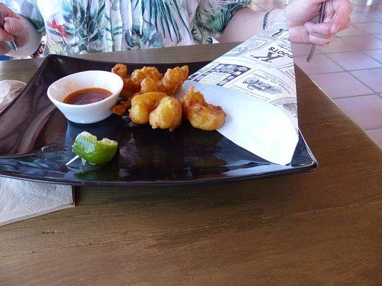 Mercadal, Spain: Spicy Prawns