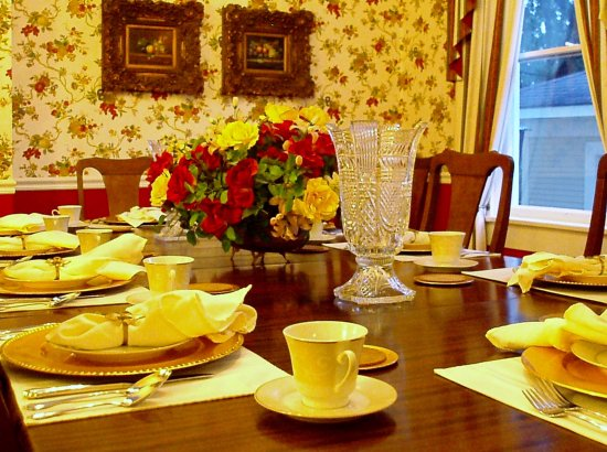Natchitoches, LA: Judge Porter House Dining Room