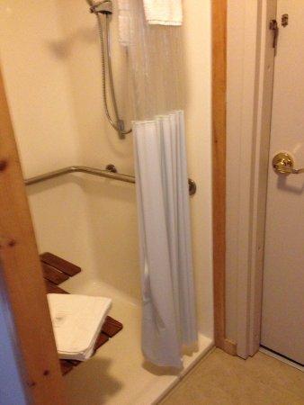 Waters Inn: Room 5 Roll in Shower
