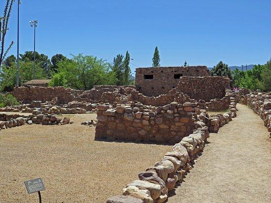 Besh Ba Gowah: A portion of the restored pueblo.