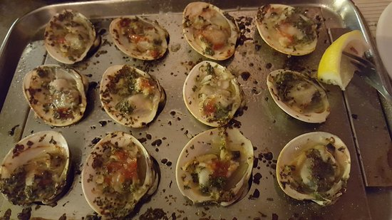 Clifton Heights, Pensilvania: Baked Clams