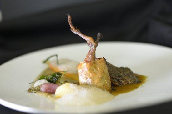 Hotel Restaurant Au Boeuf Rouge : le Pigeonneau de Monsieur Kieffer