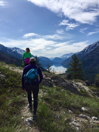 Stehekin, WA: Summit View from the Rainbow Loop Trail