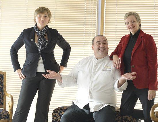 Hotel Restaurant Au Boeuf Rouge : Une Famille à votre écoute