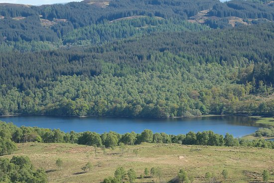Loch Lomond and The Trossachs National Park, UK: view back to Loch Venacher