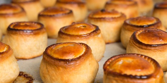 Lymm, UK: Pork Pies out of the oven 7am