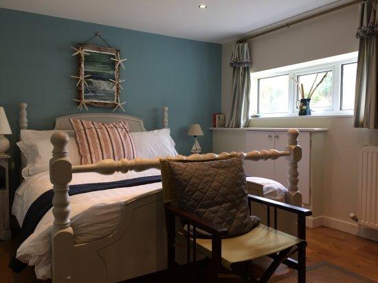 Craster, UK: Downstairs bedroom
