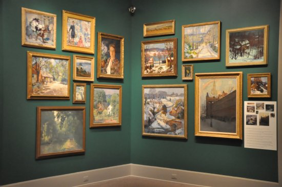 James A. Michener Art Museum: A small corner of the Lensfest Exhibition