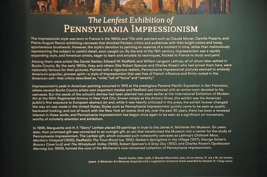 James A. Michener Art Museum: Pennsylvania Impressionism