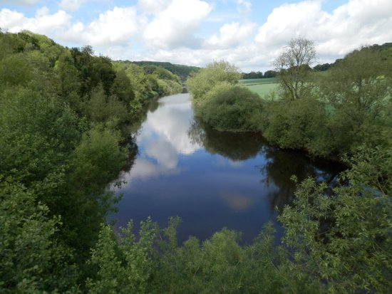 Highley, UK: River Severn from the bank
