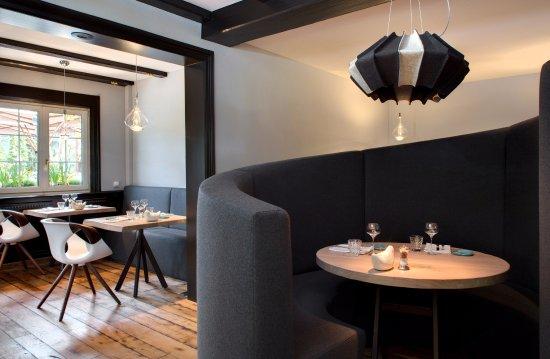 restaurant la cheneaudi re spa bild von la. Black Bedroom Furniture Sets. Home Design Ideas