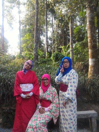 Bentong, Malasia: kimono