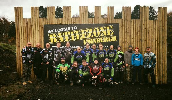 ‪Battlezone Paintball Edinburgh‬