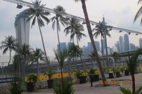 Gatlinburg Sky Lift: view from Singapore Flyer