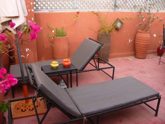 Les Jardins de Riad Laarouss: Terrasse