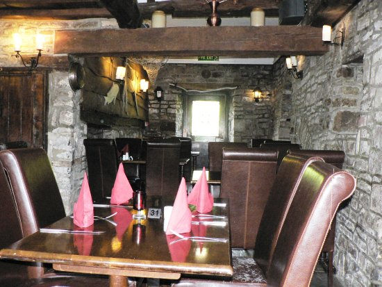 Tintern, UK: Historical Ferryman's Restaurant - Anchor Inn