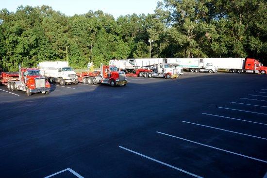 Ridgeland, Carolina del Sur: Parking lot