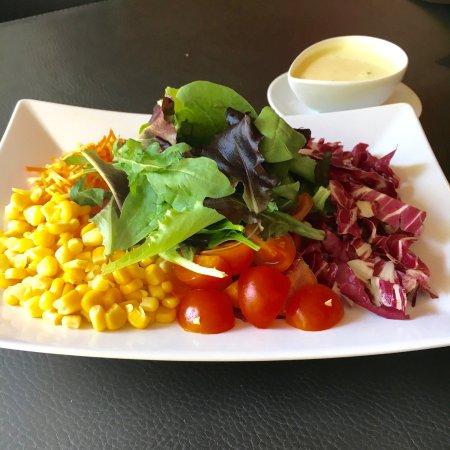 Bulle, Schweiz: Salade mêlée de saison