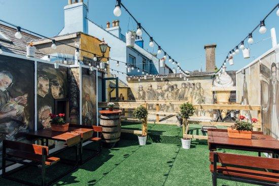 Donaghadee, UK: Roof Top Terrace