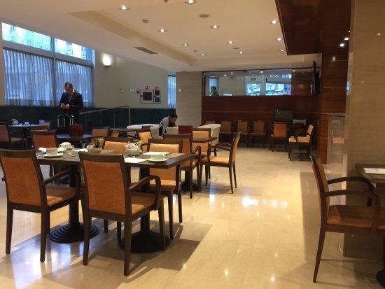 Leonardo Hotel Barcelona Gran Via: dining room