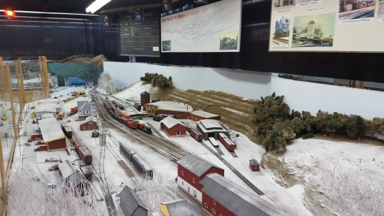 Lunenburg, Kanada: Winter railway