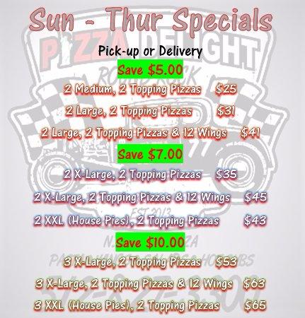 Round Rock, TX: Great Sunday thru Thursday Specials