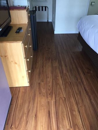 Cold Creek Inn: All new wood grain plank flooring, new triple sheet down comforters bedding and freshly painted