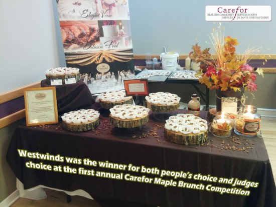 Pembroke, Canada: Winner- Carefor Maple Brunch competition