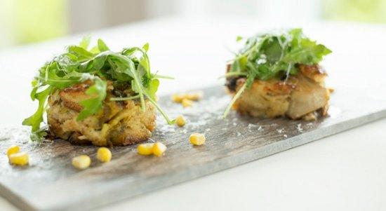 Duck, Βόρεια Καρολίνα: Mushroom bread pudding