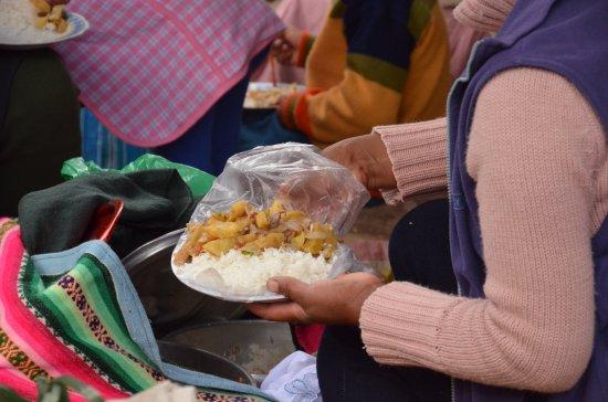 Chinchero, Perú: Fatta la spesa