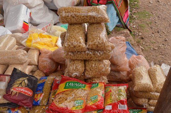 Chinchero, Pérou : pasta
