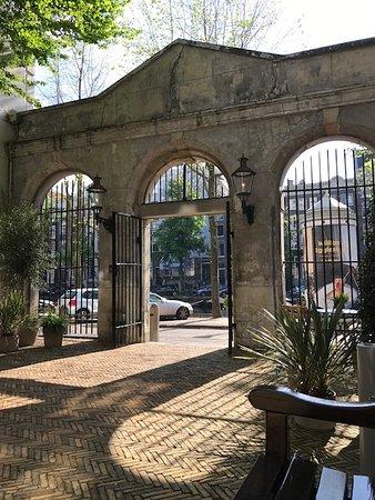 Main Hotel Entrance - Outside