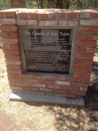 Lebec, CA: Two interesting plaques