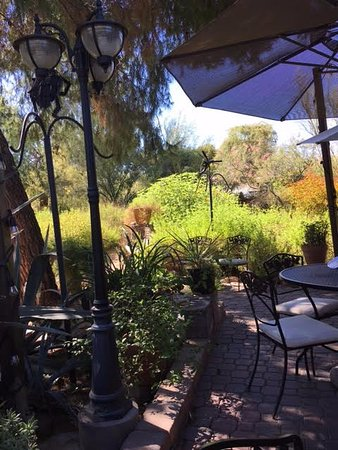 Tohono Chul : This was the patio of the restaurant.