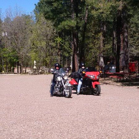 Pinetop-Lakeside, AZ: Motorcycle friendly