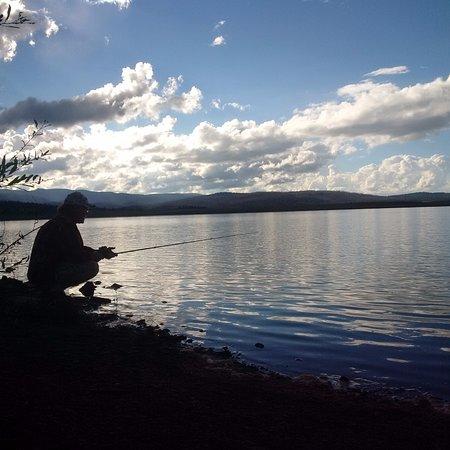 Pinetop-Lakeside, AZ: Fishing at Big Lake