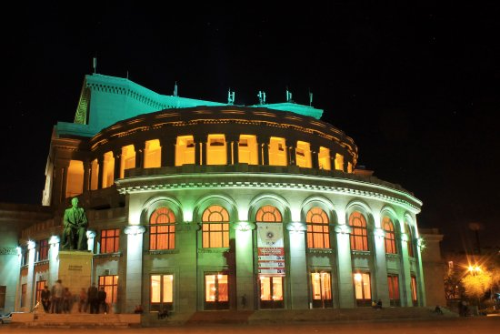 ‪The Armenian National Academic Theater of Opera and Ballet named after Alexander Spendiaryan‬
