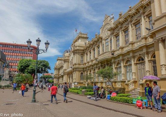 Correos de Costa Rica: Fachada principal