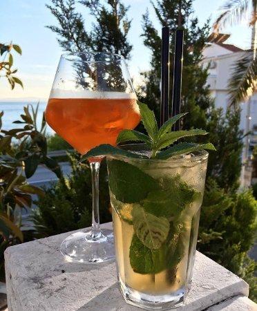 Podstrana, Croatia: Mojito and Aperol Spritz