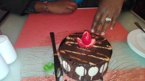 Fourways, Sydafrika: Dessert