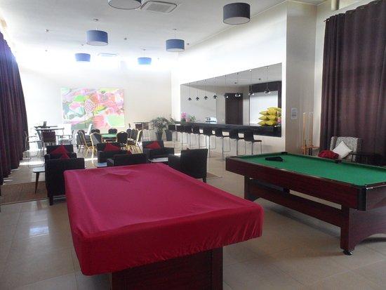 Mahavelona, Madagaskar: Gamingroom (Bar, snooker, poker, ...)
