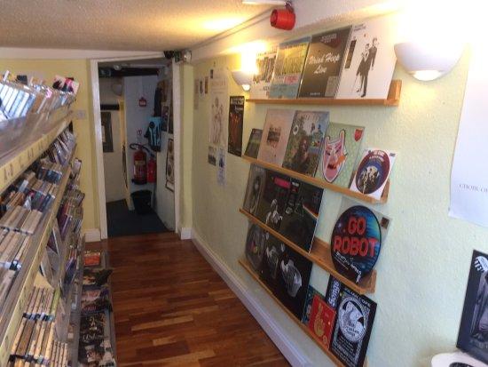 Tavistock, UK: Part of music room at top