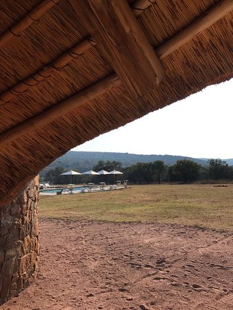 Waterberg, South Africa: View from the private outdoor shower