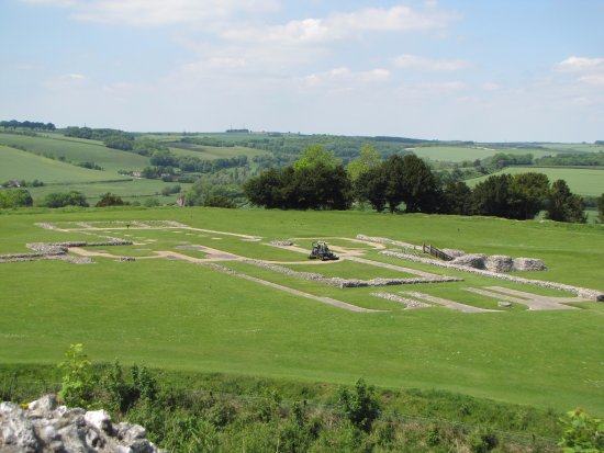 Old Sarum: the cathedral