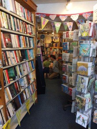 Tavistock, UK: Kids space - books everywhere