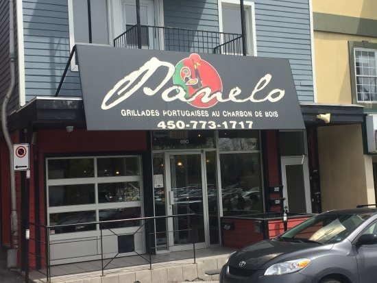 Saint Hyacinthe, Canada : Façade du restaurant