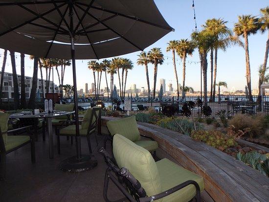 Coronado Island Marriott Resort & Spa: Beautiful Views At Current Restaurant