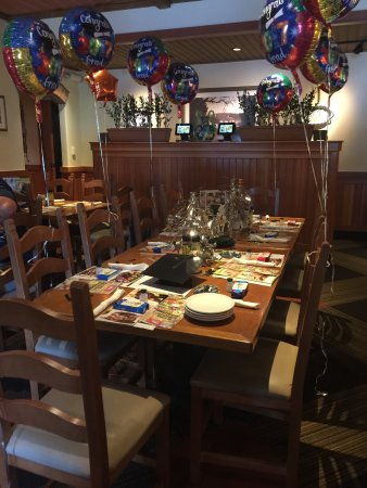 olive garden 5th grade graduation we had an awesome service and the restaurant was - Olive Garden Cape Coral